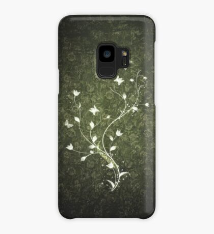 Floral vintage [green] Case/Skin for Samsung Galaxy