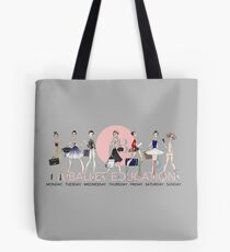 Ballet Style Tote Bag