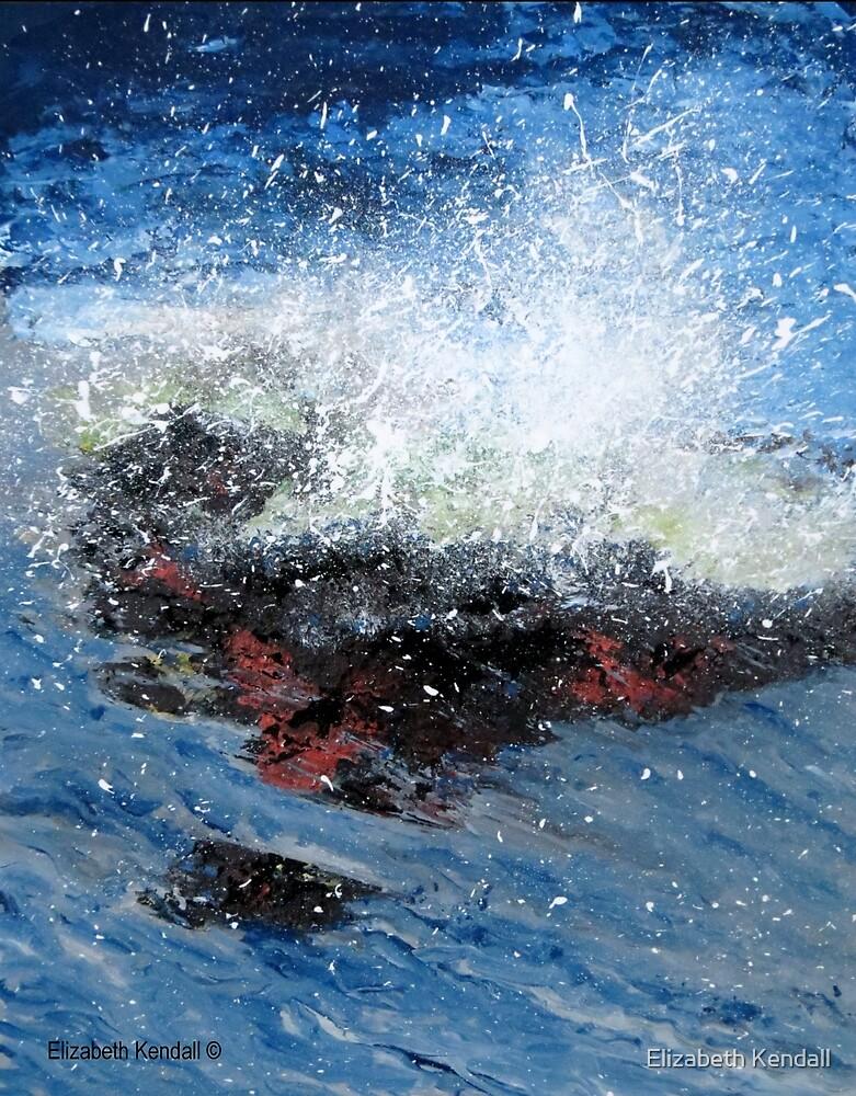 Crashing wave by Elizabeth Kendall