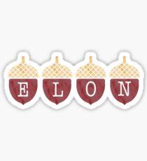 Elon Eicheln Sticker