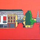 Red Set: Strand, Fleet Street, Trafalgar Square by yobund