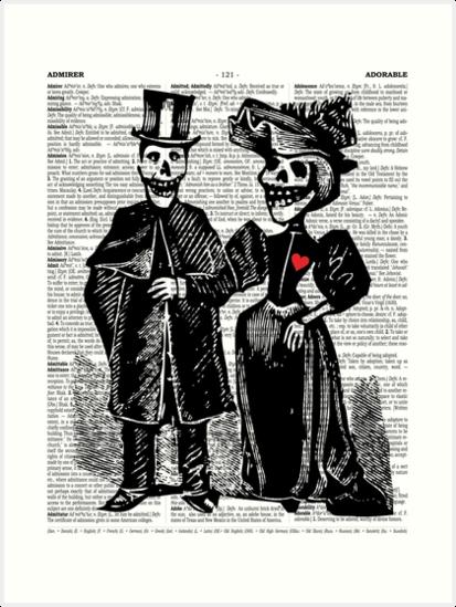 Calavera Couple by EclecticAtHeART
