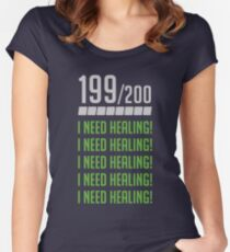 I Need Healing Women's Fitted Scoop T-Shirt