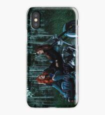 Wayhaught Motorbike Lovers - Colour iPhone Case/Skin