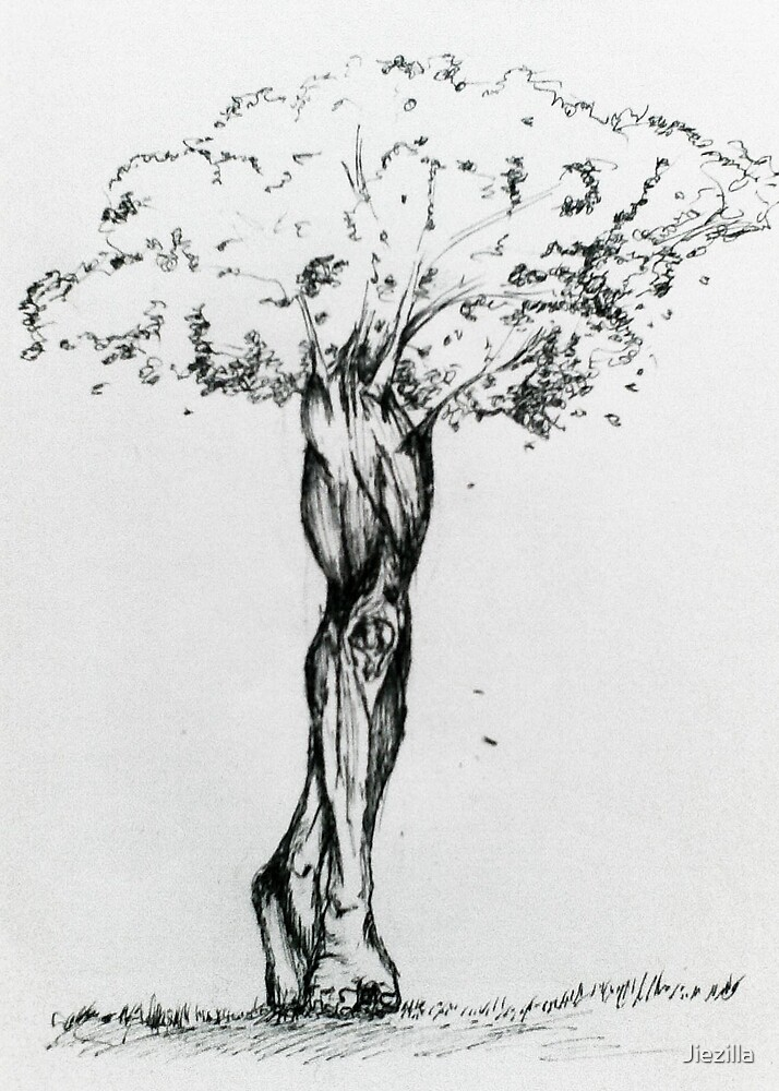 stalwart tree leg by Jiezilla