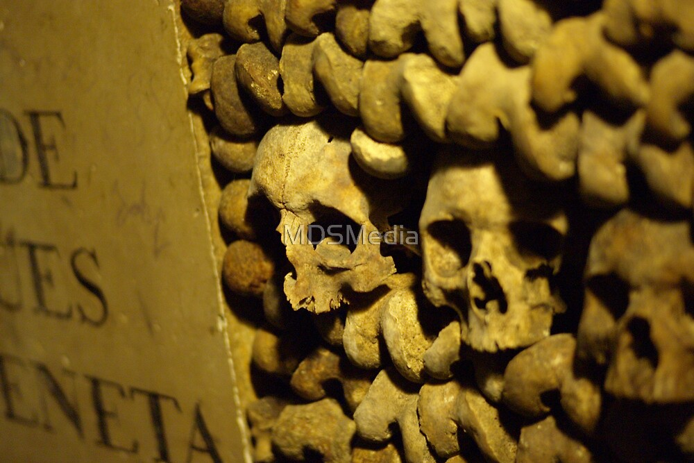 Paris Catacombes 1 by MDSMedia