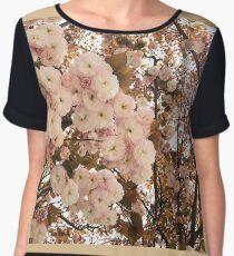 Cherry Blossom Explosion Women's Chiffon Top
