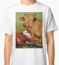 Mother And Daughter Classic T-Shirt