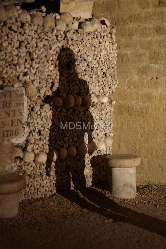 Paris Catacombes 2 by MDSMedia
