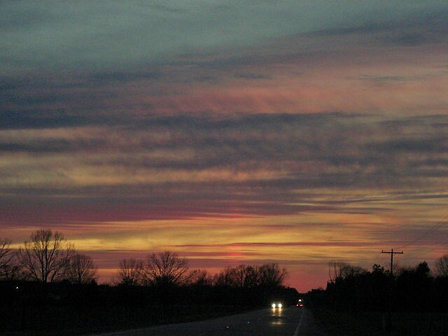Alabama Sunset 2 by Glenda36804