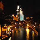Burj Al Arab in Dubai by Graham Taylor