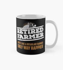 Funny Farmer Gifts Retired Farmer Like Regular One Only Way Happier Mug