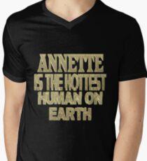 Annette Men's V-Neck T-Shirt