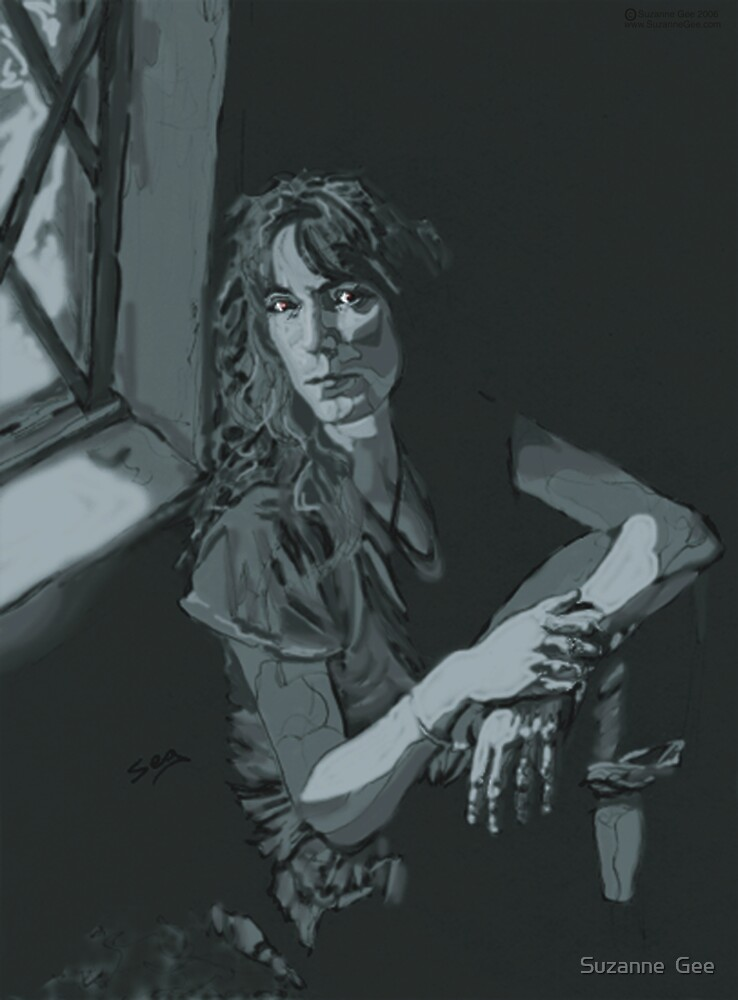 Patti Smith by Suzanne  Gee