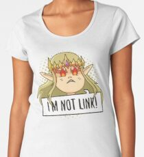 I'm Not Link! Women's Premium T-Shirt
