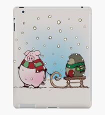 Winter fun iPad Case/Skin