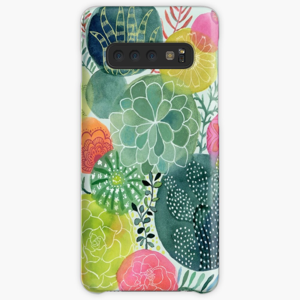 Succulent Circles Case & Skin for Samsung Galaxy