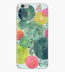 Succulent Circles iPhone Case