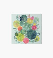 Succulent Circles Art Board