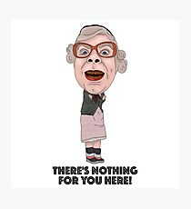 The League of Gentlemen Inspired Illustration Tubbs Photographic Print