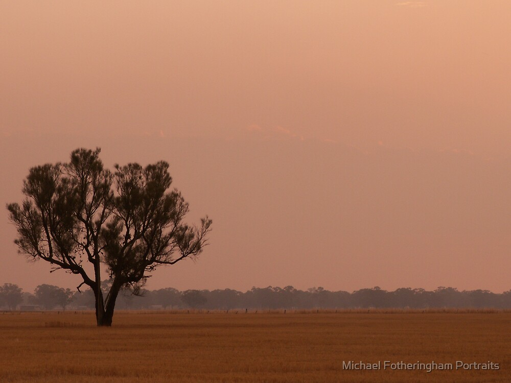 Western Highway Sunset by Michael Fotheringham Portraits