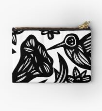 Hummingbird, Wall Art, Art Print Birds Studio Pouch