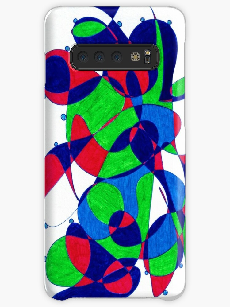 'Forms 3' Case/Skin for Samsung Galaxy by GraphiChris
