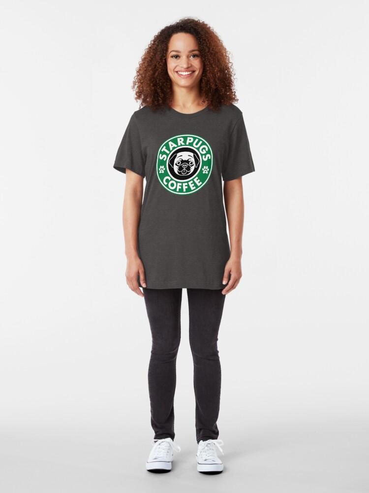 Alternate view of Starpugs Coffee Slim Fit T-Shirt