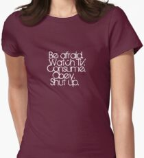What Your Government Wants. Women's Fitted T-Shirt