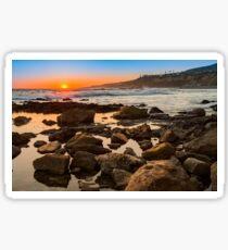 White's Point Sunset 2 Sticker