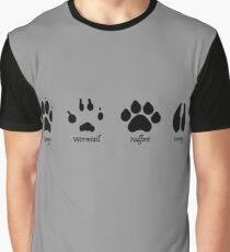 Moony, Wormtail, Padfoot, and Prongs Graphic T-Shirt