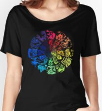 Monster Hunter Color Wheel T-shirt Women's Relaxed Fit T-Shirt