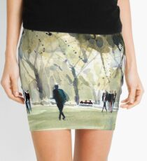 Central Park and  Spring People Mini Skirt