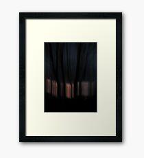 Night vs Day Framed Print