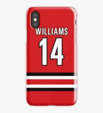 Justin Williams #14 iPhone Case/Skin