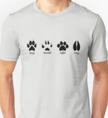 Moony, Wormtail, Padfoot, and Prongs Unisex T-Shirt