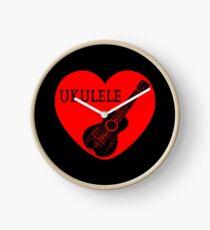 Ukulele Love Clock