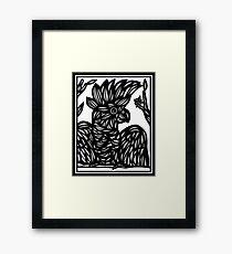 Cockatoo, Wall Art Framed Print