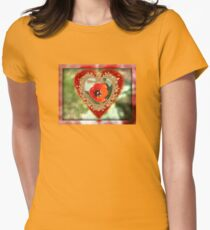 Tulip Valentine Womens Fitted T-Shirt