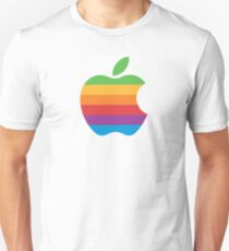 Rainbow Apple Logo Unisex T-Shirt