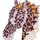 Camo Horse - Paint - with Purple Borders by HiddenChamber