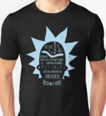 RICK - To live is to risk it all Unisex T-Shirt