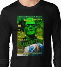 Frankenstein Retro Style Long Sleeve T-Shirt