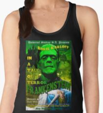 Frankenstein Retro Style Women's Tank Top