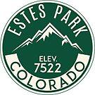 Estes Park Colorado Rocky Mountain National Park by MyHandmadeSigns