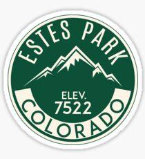 Pegatina Parque Nacional Estes Park Colorado Rocky Mountain