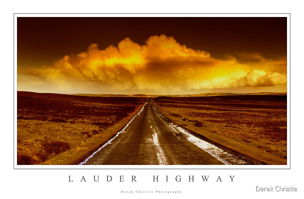 Lauder Highway by Derek Christie