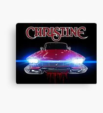 Christine Road Rage Canvas Print