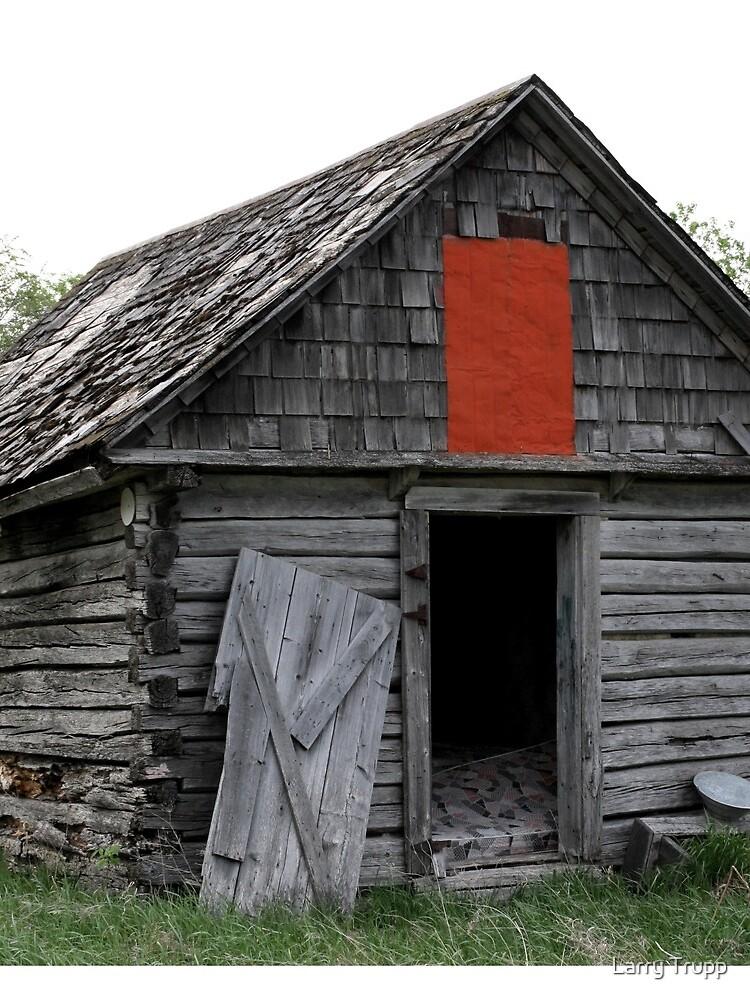 Old Log Cabin on the Prairies by umpa1
