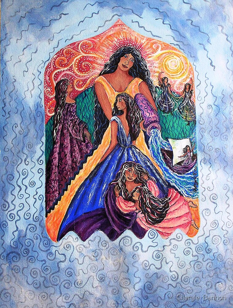 Sacred Journey by Cheryle  Bannon